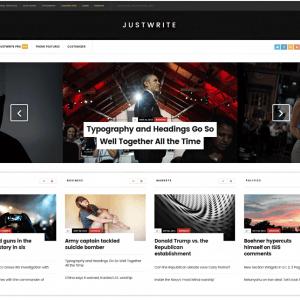Motyw Wordpress JustWrite