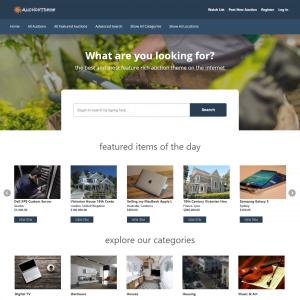Szablon Wordpress Auction Theme