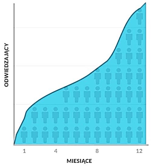 SEO wykres